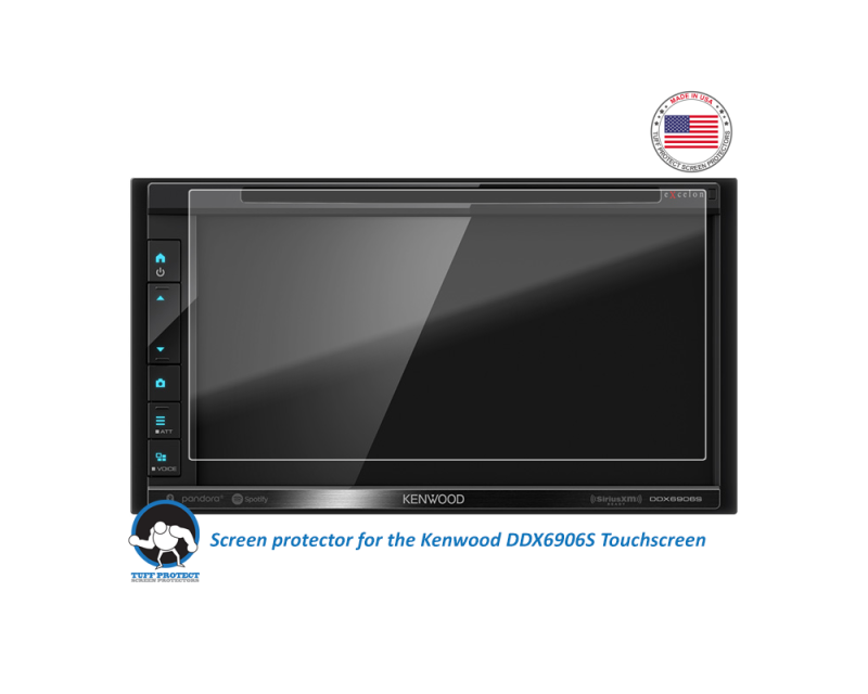Kenwood Car Audio/Video Receivers - Tuff Protect Screen